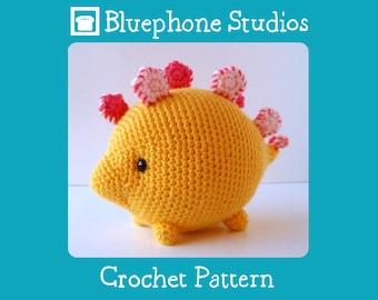 Crochet Pattern: Susan the Stegosaurus