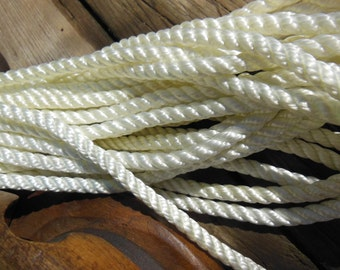 50FT Marine Quality Nylon Rope for DIY Nautical Projects, Household Projects.