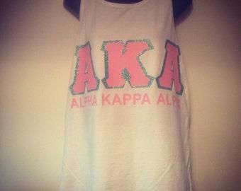 AKA Alpha Kappa Alpha Tank