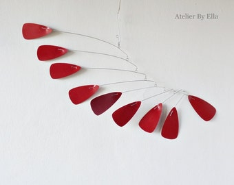 Kinetic mobile, Hanging mobile, Calder style mobile