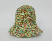 Baby Summer Hat 3 To 9 Month Old  Girl  Cap 6 Months Infant Boy Colorful Yellow Red Green Blue Cotton  Spring Beanie