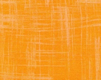 SALE--PAINTERS CANVAS--Orange--Michael Miller--price is per yard