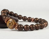 Stretch Bracelet Elastic Bracelet Copper Beads CarolMade S25