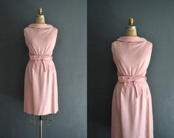 50s pink dress / bridesmaid dress