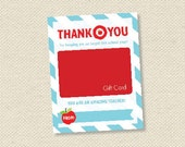 teacher appreciation gift card holder - On Target - INSTANT DOWNLOAD