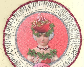 Marie Antoinette | Marie Antoinette Ornament | Christmas Ornament | Vintage Style | Let Then Eat Cake