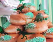 Green perspex dinosaur cu...