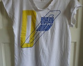 Vintage 80s DURAN DURAN Distressed Tour Rock T Shirt sz M