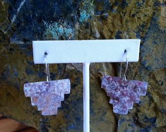 Aztec Sterling Earrings