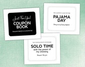 COUPON BOOK for Kids — 34 Unique, Funny Printable Coupons, Coupon Book, Anytime Gift, Birthday pdf