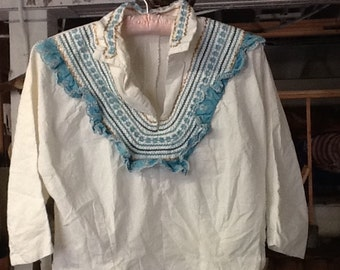 Vintage Faye Creations White Blouse
