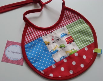 Bib Lined with Waterproof Terry