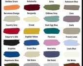 Annie Sloan Chalk Paint Color or General Finishes Stain Samples (Lots of 5)