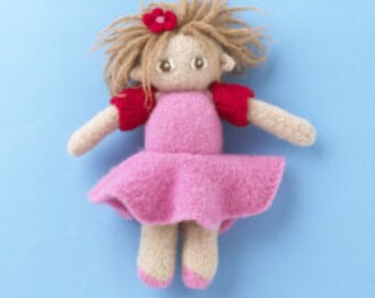 KuKu Doll Felted Doll Kit - Coco