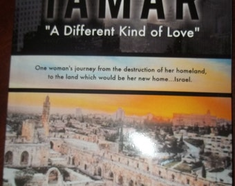 "Autographed Book  TAMAR ""A Different Kind of Love""    First Publishing  Thanksgiving, Christmas"