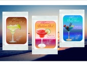 Margarita Mix Favors - personalized - set of 12 margarita mix packets - bridal shower, wedding, bachelorette party favor