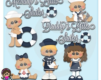 2015 Little Sailors  Clip art  Clipart Graphics  Commercial Use