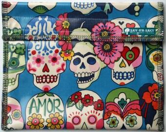 Sav-Ur-Sac! XL Keep Fresh reusable sandwich bag: DAY of the DEAD