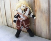Fili, Dwarf, The Hobbit, Crochet doll