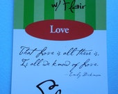 Vellum Quotes Booklet, Love, Sports, Summertime