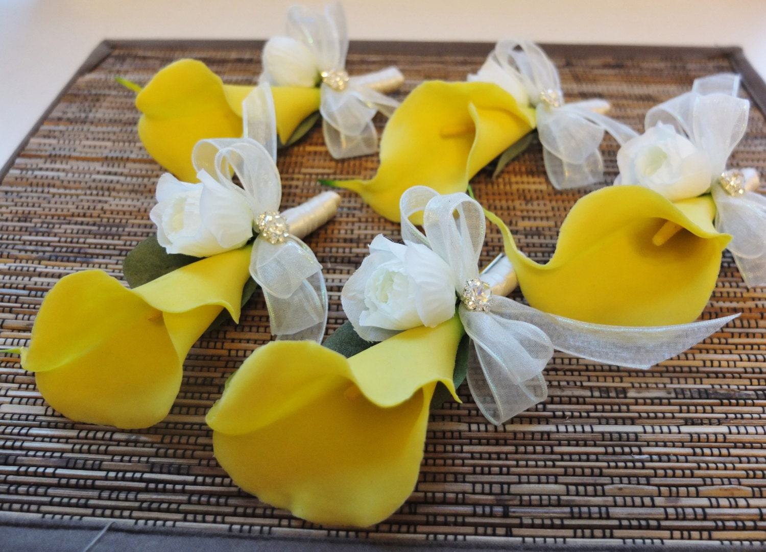 Boutonniere yellow calla lily boutonniere yellow calla lily zoom dhlflorist Images