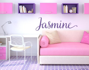 Girl Names // Personalized // Kids Room // Nursery // Vinyl Wall Decal Sticker // Choose Your Font