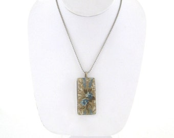 Sale! Necklace featuring Vintage Wallpaper