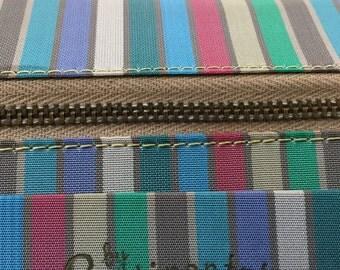 1960s Continental Straw Handbag Vintage Purse