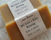 Beer Soap Baby Shower Favors-30, We have a Baby Brewing, Artisan Soap, Shower Favors, Handcrafted, unique