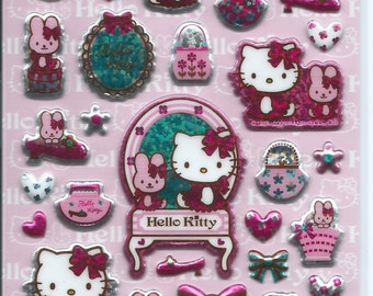 Japanese / Korean Stickers- Girly Hello Kitty