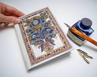 Handmade Book, Medieval Style - handpainted miniature, illuminated manuscript