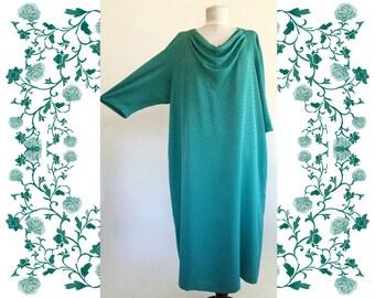 "Vintage ""Eva Negri""  Dress large size"