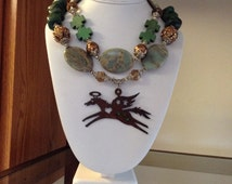 Chunky Cowgirl Necklace