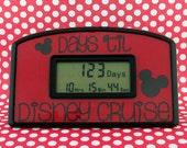 Disney Cruise Vacation Countdown Clock