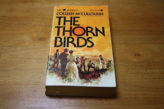 The THORN BIRDS by Colleen McCullough, Avon Books, First Avon Printing, June 1978