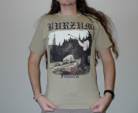 BURZUM Filosofem T-shirt Size M by ArchiveBrooklyn on Etsy
