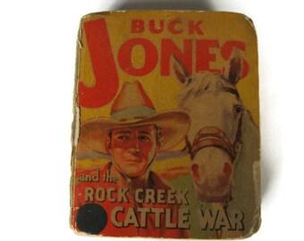 Buck Jones and the Rock Creek Cattle War, Gaylord Du Bois, 1938