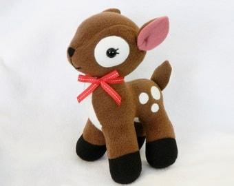 Plush deer fawn pony stuffed toy