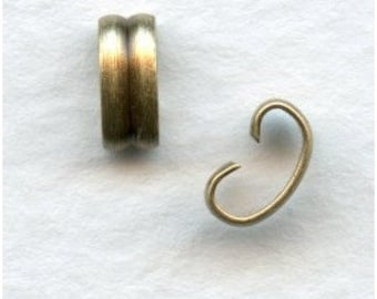 12 Ox Brass Connectors - Bracelet Connectors Very Sturdy - Great for Necklaces