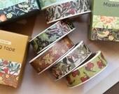 4 Sets Flower Style Washi Tapes - Japanese Washi Tape - Masking Tape - Deco Tape - Washi Paper - Filofax - 8 rolls in