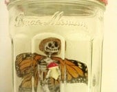 Fairy In A Jar - Zilla (Made With Real Monarch Wings)
