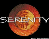 "Firely ""Serenity"" logo Cross Stitch Pattern (INSTANT DOWNLOAD)"