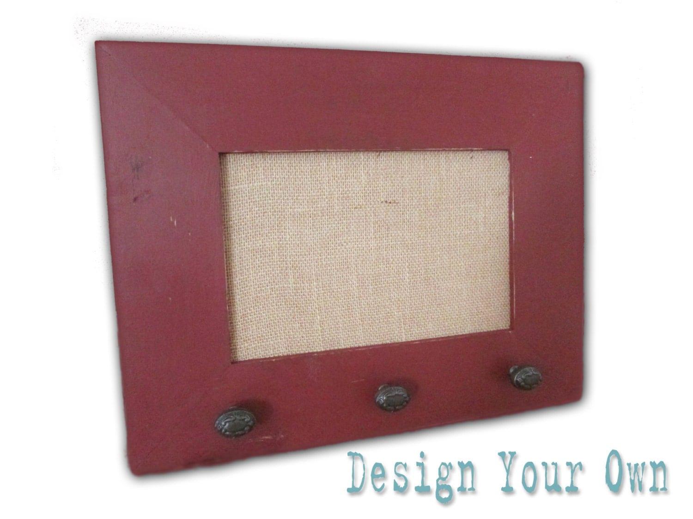 small burlap cork board custom framed cork board design your. Black Bedroom Furniture Sets. Home Design Ideas