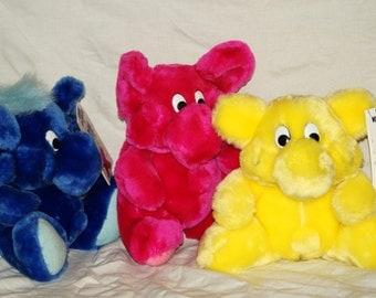 1991 Kodak Kolorkins Toys lot of Three