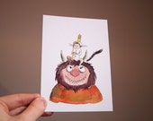 Where the wild things are -  Postcard