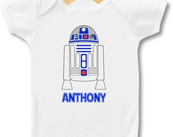 Star Wars R2D2 -  Bodysuit or T-Shirt