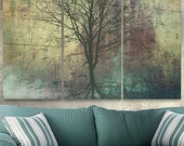 Tree of Life Canvas Giclee Wall Art Triptych