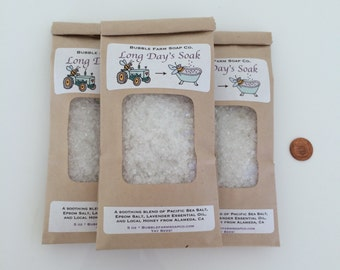 Lavender / Local Honey Bath Salts
