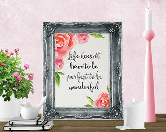 Printable Art - Printable Quote - Wall Art Print - Wall Art Quote - Inspirational Quote - Digital Art - Motivational Quote - Wall Decor Art