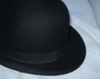 Vintage mens hat 1910 made in czechoslovakia perfect